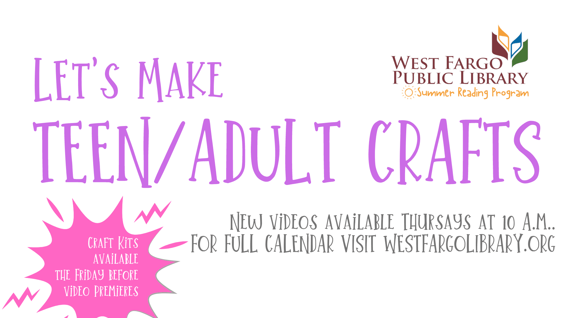 Teen and Adult Crafts